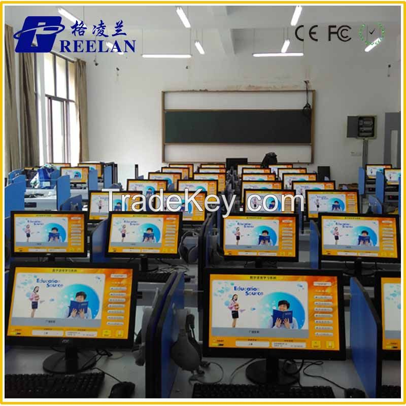 Digital Language Lab Equipment System Laboratory Video Recoder Sound System