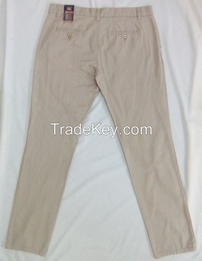 Man's Twill Long Pant