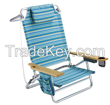 Practical sun lounger with sunproof