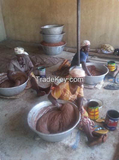 Pure Raw Natural Africal Black Soap from Ghana