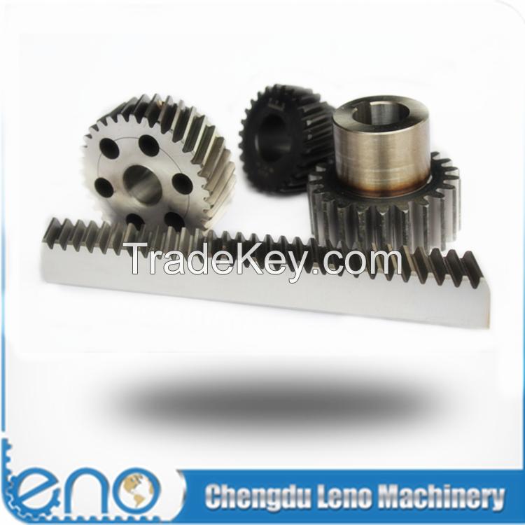 Density Straight C45 Steel Gears and Racks