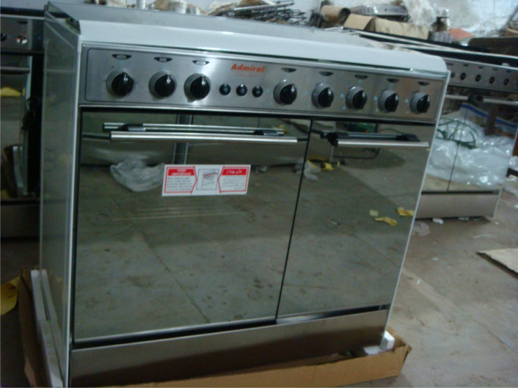 Gas Freestanding Bottle Compartment Oven(Admiral)