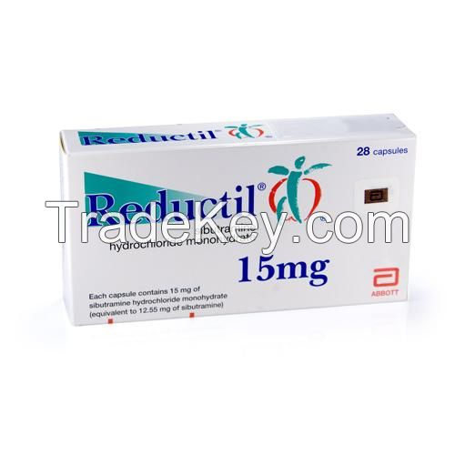Buy Weight Loss Reductil (Sibutramine Meridia) 15mg Tablets Online Cheap USA, UK