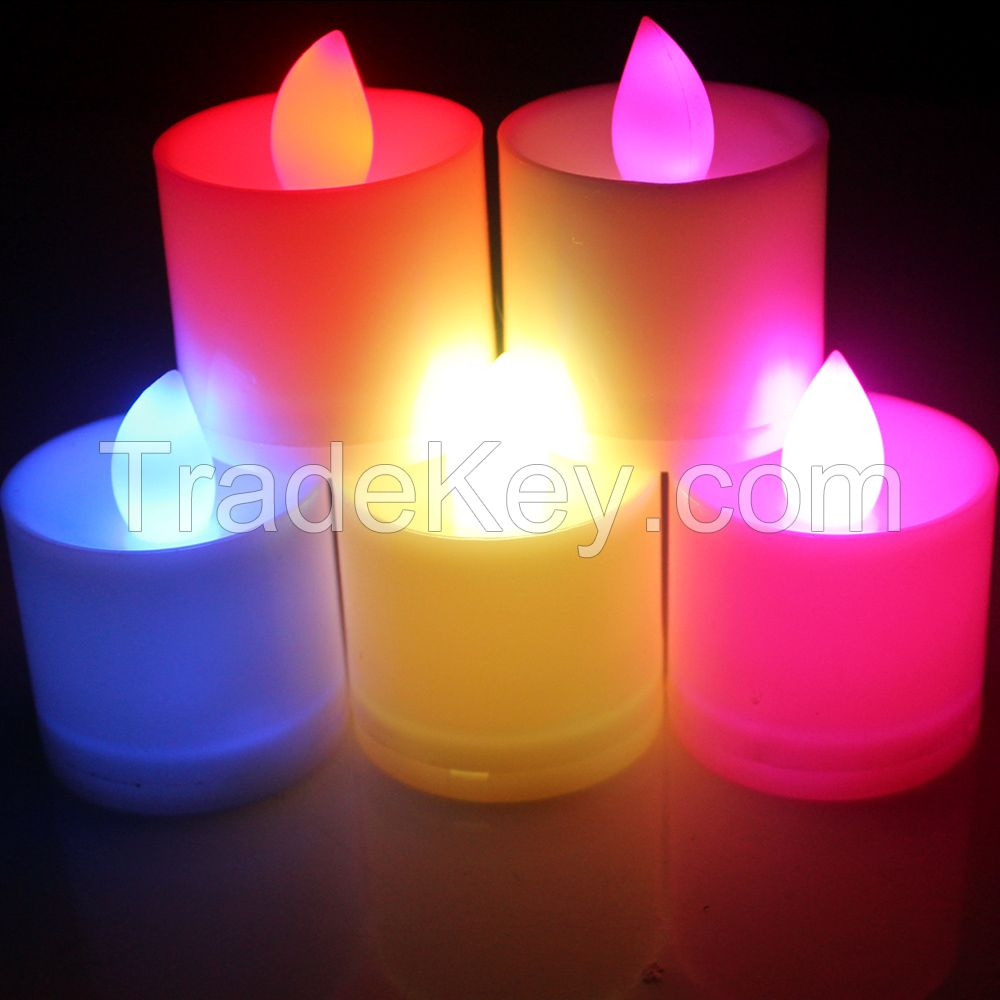 Chinese Wholesale LED candles, flameless electronic candles lights