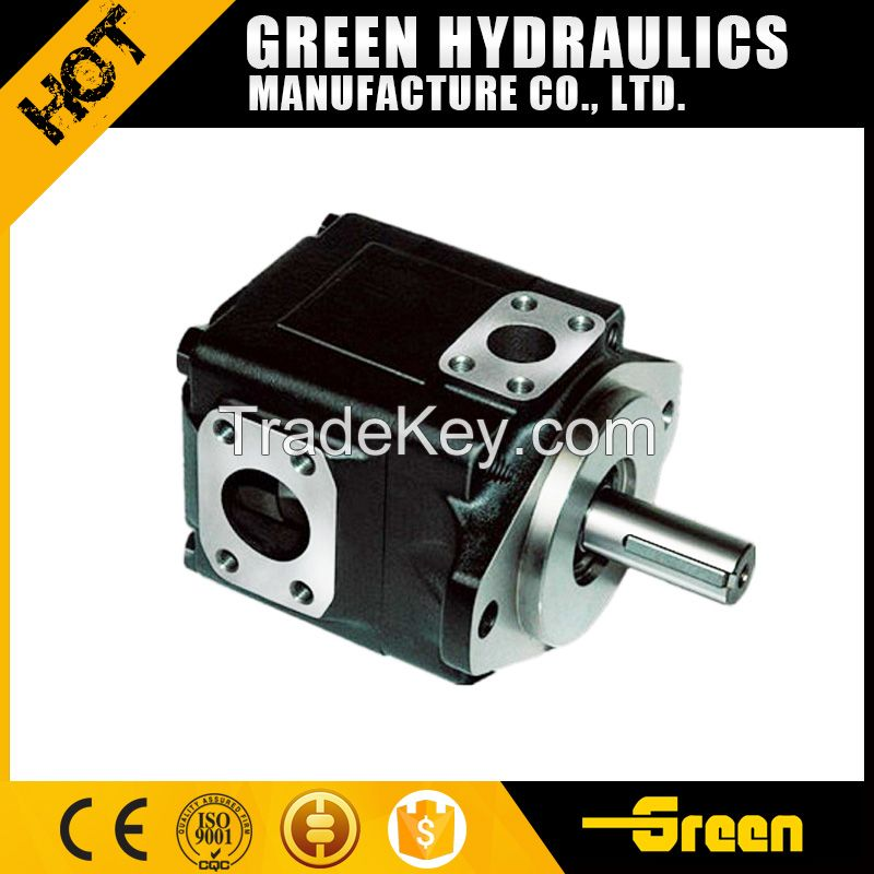 powerful hydraulic pump T6 series double vane oil pumps