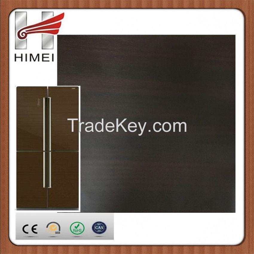 Flower film coated metal laminated steel sheet for refrigerator