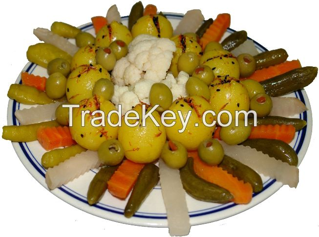 Mixed Vegetables Style Pickles