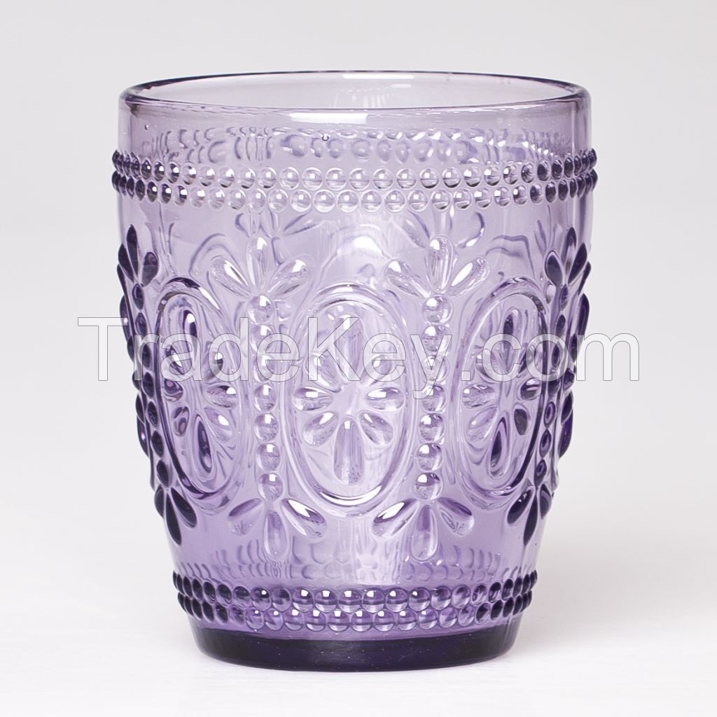 hot sale cheap clear crystal drinking glass tumbler glass cup DOF
