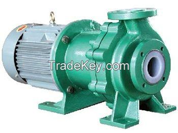 CQB-FT Series Anti-corrosive acid alkaline water transfer pump
