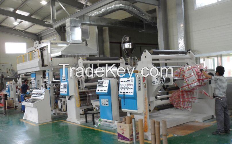 Extrusion Laminating Machine / T-Die Extrusion Machine / PE Coating Machine / Extrusion Lamination Machine / Packaging Machine / Plastic Film Lamination Machine / PE Extrusion Machine