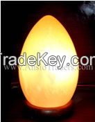 "Fancy Egg Shape Salt Lamp - 4""x7"""