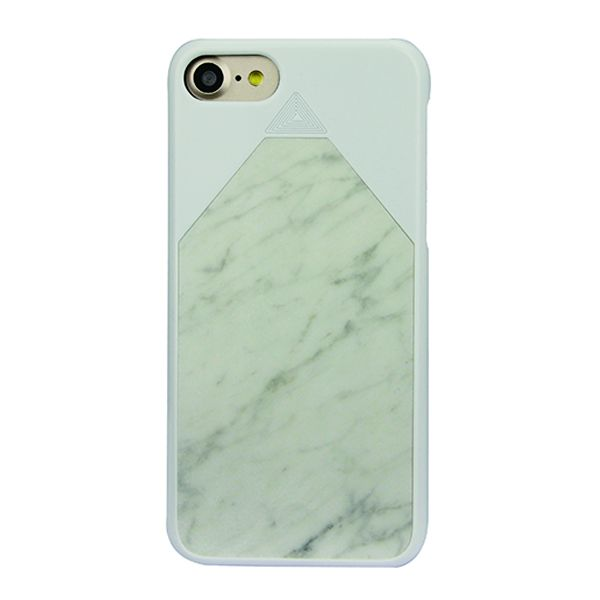 Ultrathin Natural Marble Material cover for iphone 7 strong case