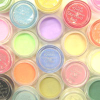 3D Colour Powders for Artficial Nail