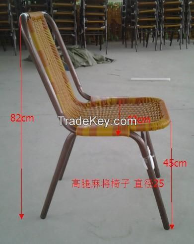 Hand-woven chair for fishing