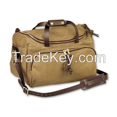 high quality canvas duffle bag