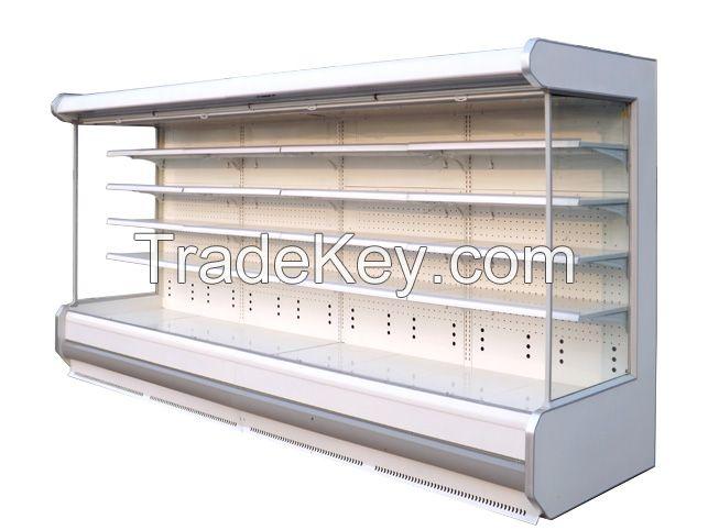 multi deck supermarket refrigerator commercial freezer deli display chiller beverage showcase fridge