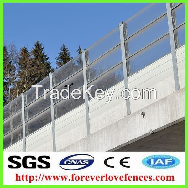 high quality pc celuka board processing line noise barrier
