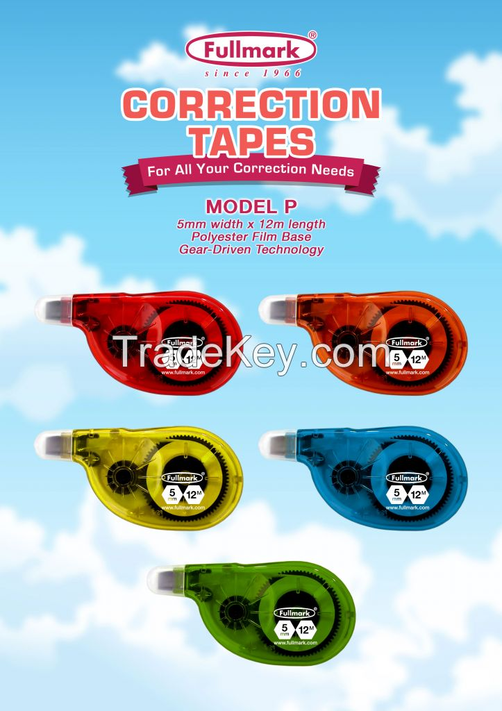 Correction/Gluey Tapes/Compatible Printer Ribbons/Inks