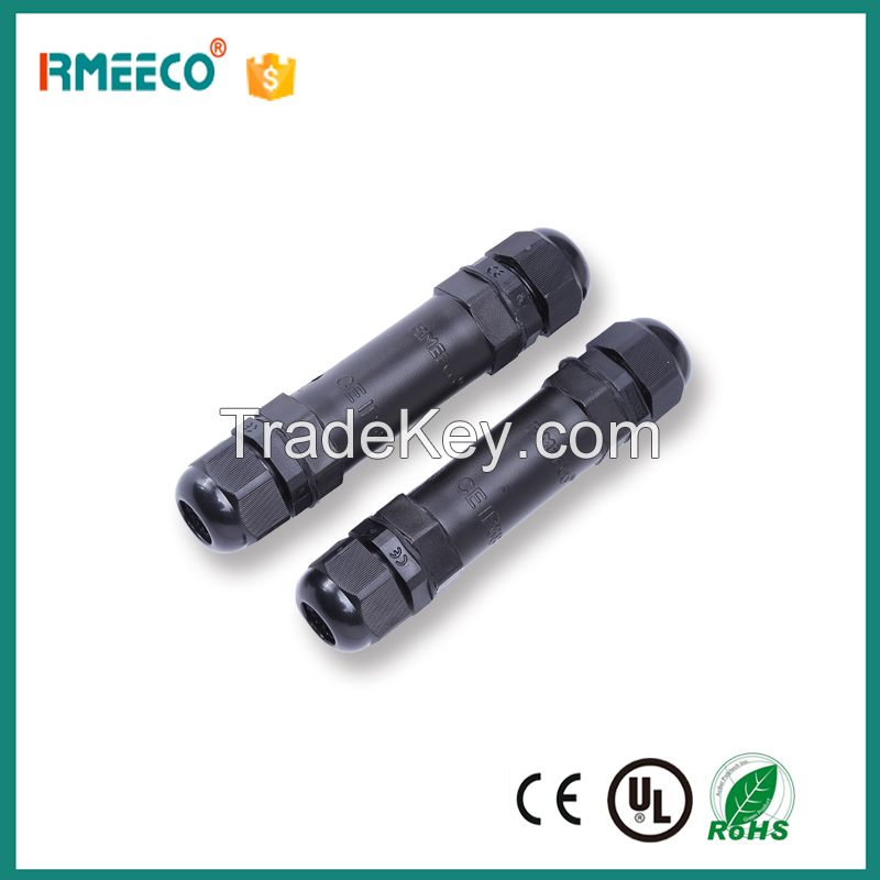 IP68 1 pin 2 pin 3 pin male and female waterproof auto electrical wire joint connector