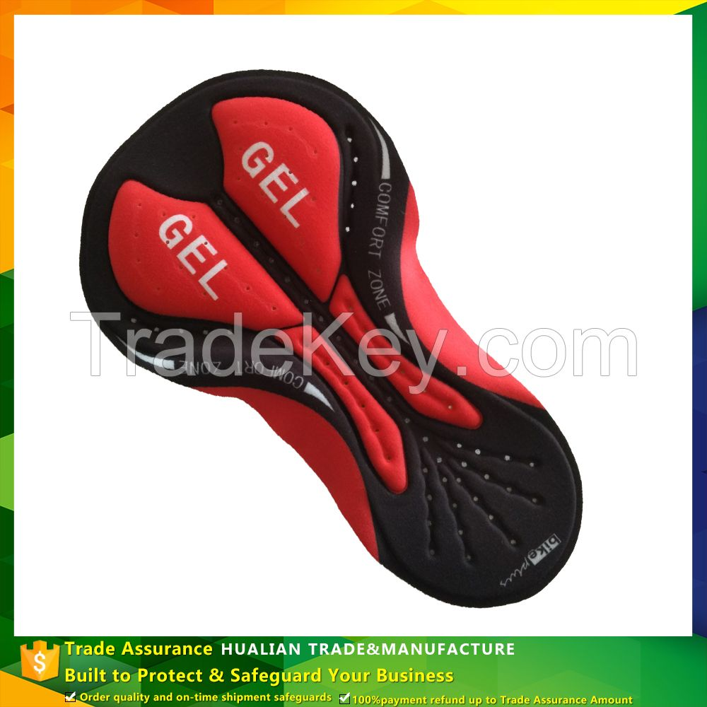 Sublimation Coolmax Cycling Gel Pad For Cycling Wear