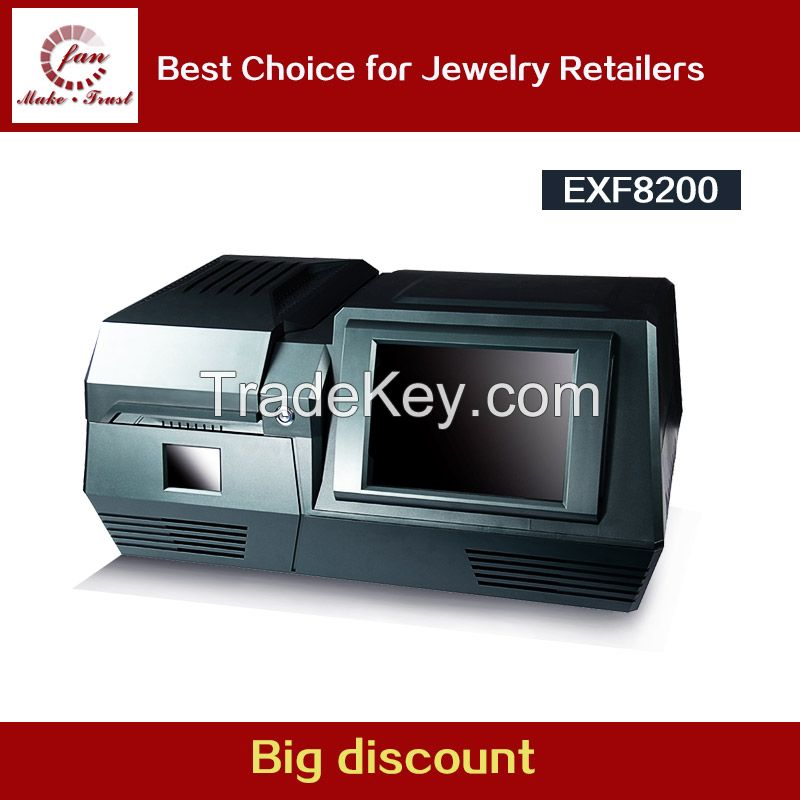 Portable Gold And Silver Testing Equipment , Integrated PC With Touch Screen