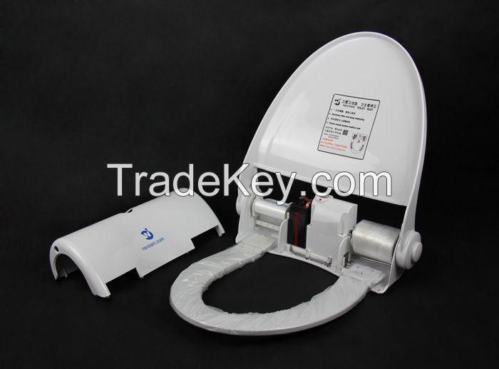 intelligent toilet seat cover for public toilets