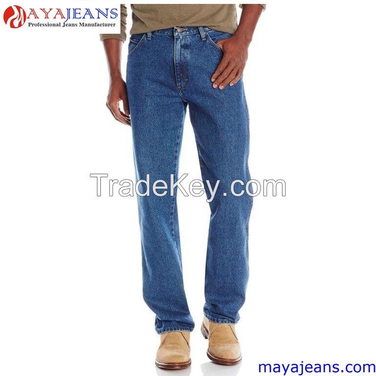 Men's Modern Series Straight-Fit Jean  Maya Garment Co., Limited