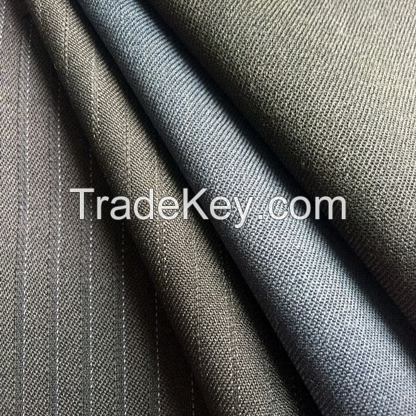 50/50 wool polyester suit fabrics for men