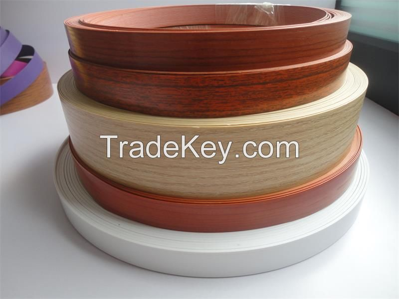 pvc edge banding with different colors