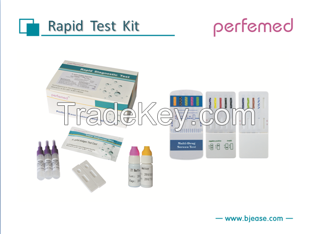 Invitro diagnostic reagents(Rapid Tests ,ELISA Tests and CLIA Tests ) / instruments