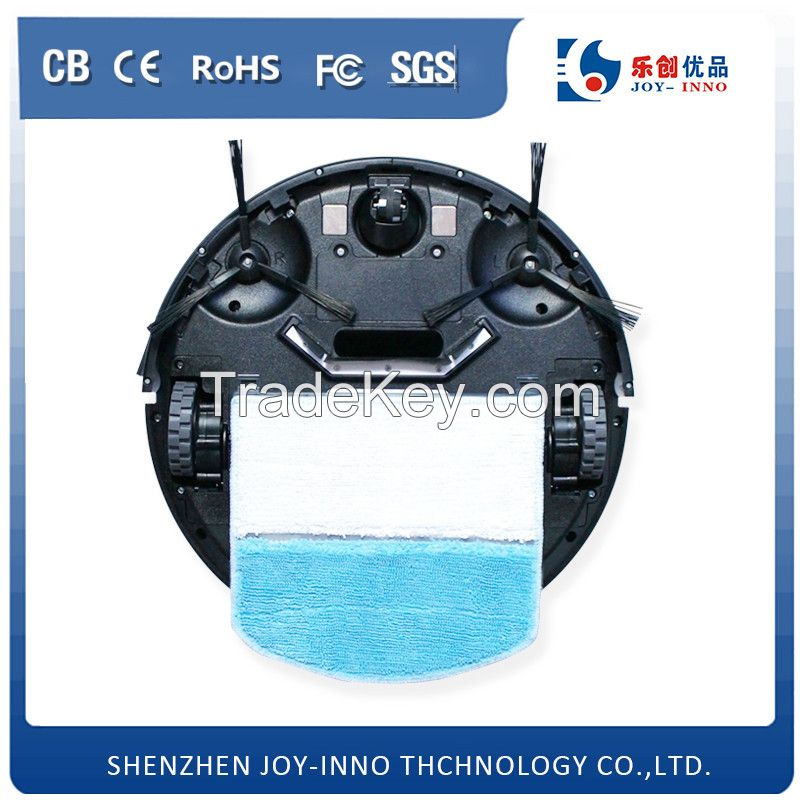 Joy-inno Home Aplication Powerful Cyclone Robot Vacuum Cleaner with Remote Control