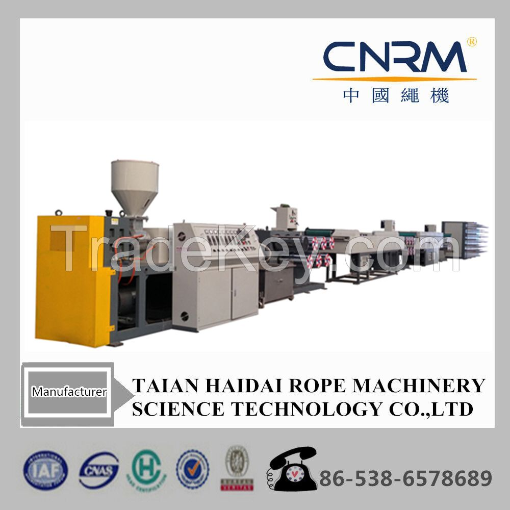 pp pe rope fiber extruder machinery for rope 80