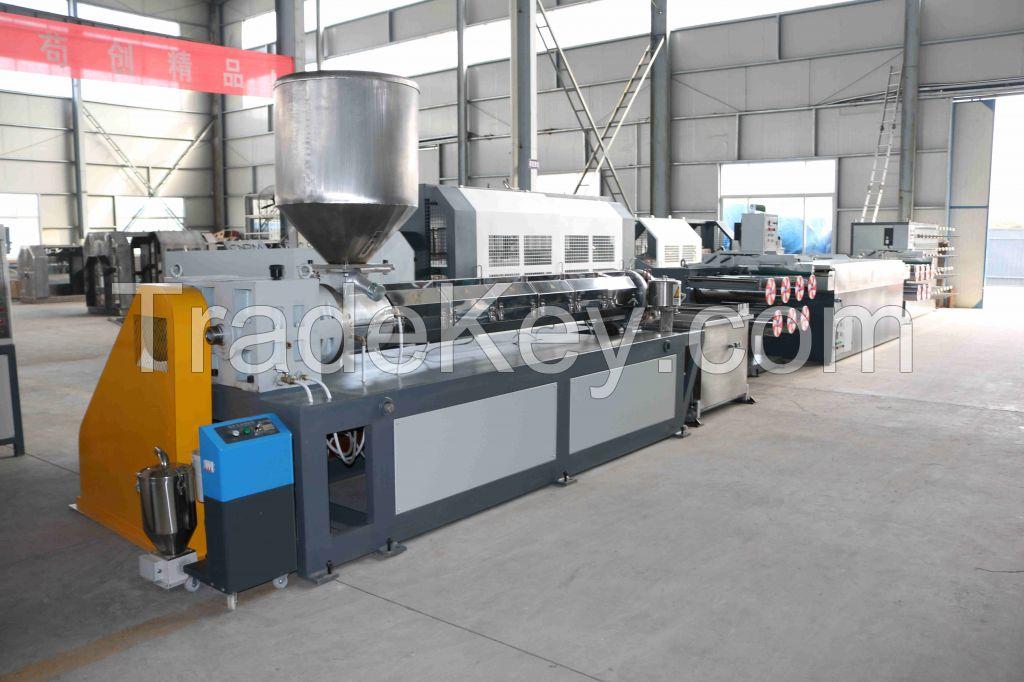 pp pe rope fiber extruder machinery