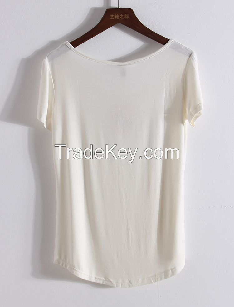 New Design Fashion women ladies blouse summer Casual Chiffon tops and blouses