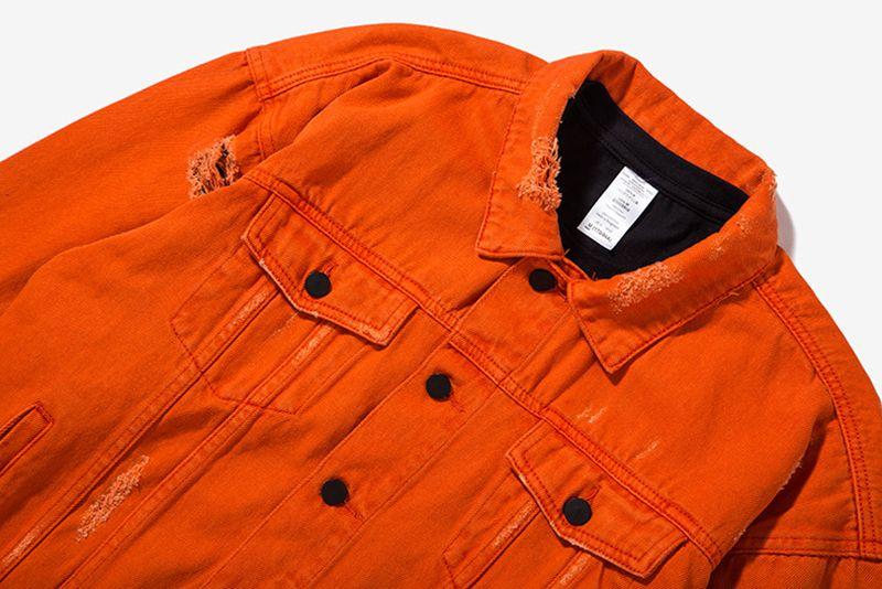 long sleeve denim jacket winter man jacket