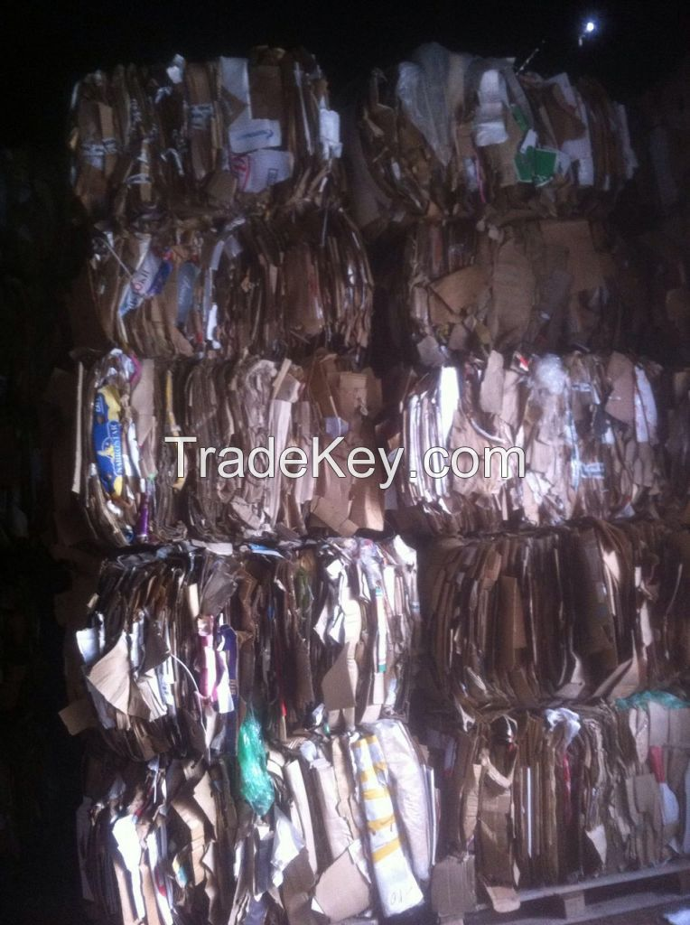 OCC waste paper (Old Corrugated Containers)