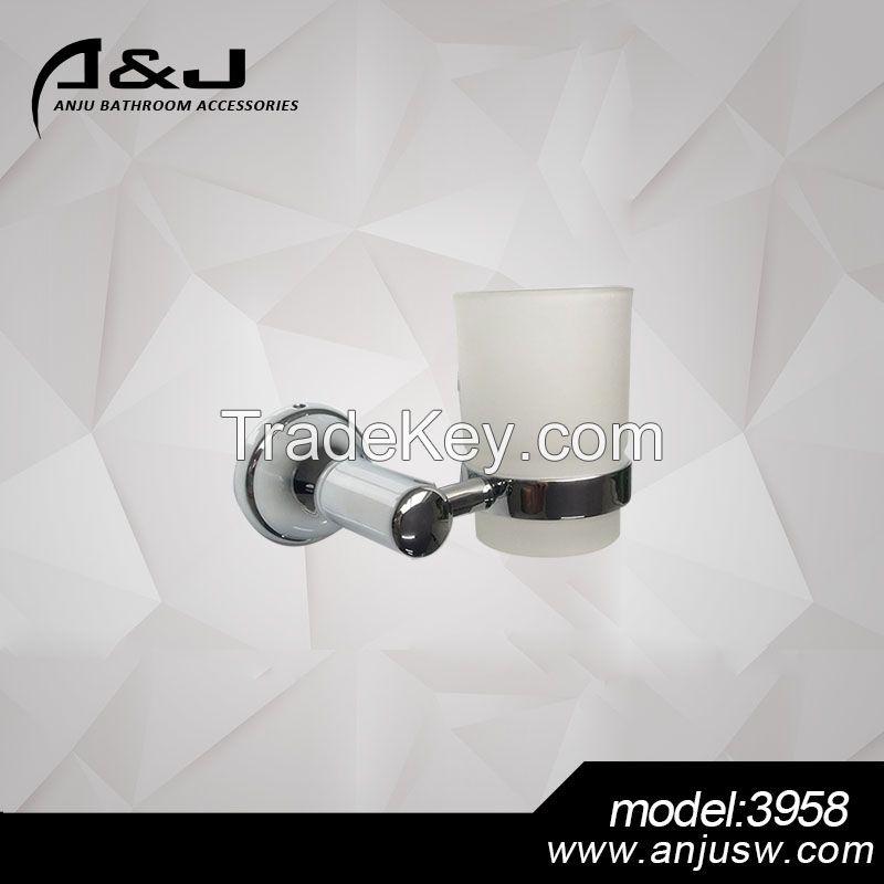 German Design Bath Fittings Zinc Alloy Chrome Plated Bathroom Hardware