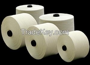 100% Cotton Compact yarn: Ne 24/1 - Ne 120/1