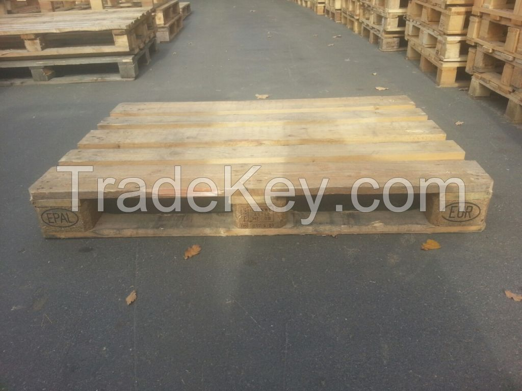 Pallets, packaging, collars, and other packing production.