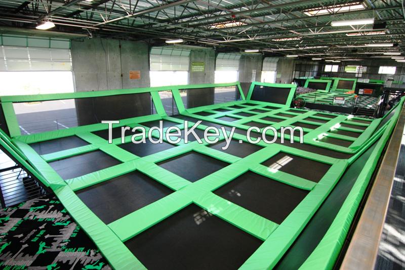 2016 Hot Sale fast business Indoor Trampoline Park