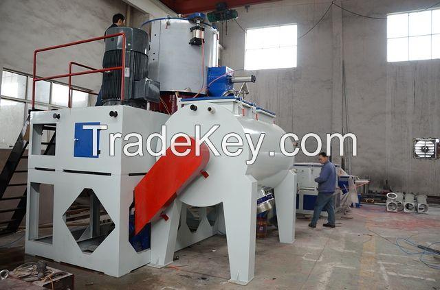 SRL-W800/2000 horizontal PVC hot and cool mixing machine