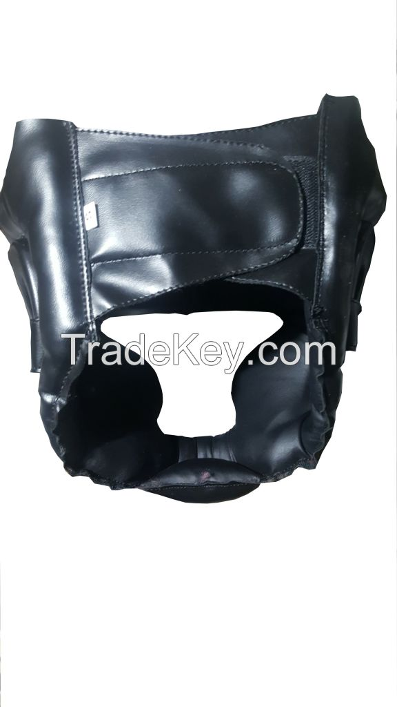 Pure Leather Custom Head Guard