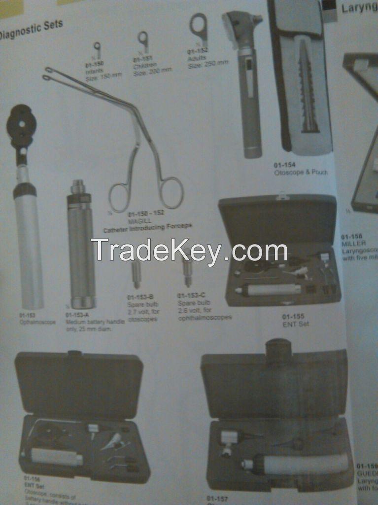 Forceps,Elevators,scalpel handles,curettes,needle holders
