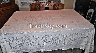 My style plain table cloth