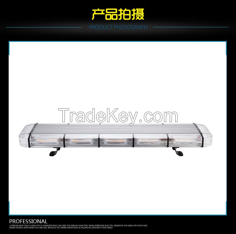 LED beacon strobe warning flash light 120w