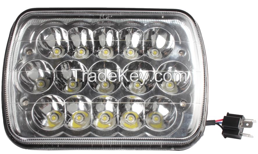7 inch LED head lamp LED work light 7'' 45W high intensity LEDs for tr