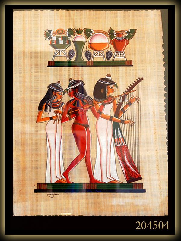 papyrus ,paintings