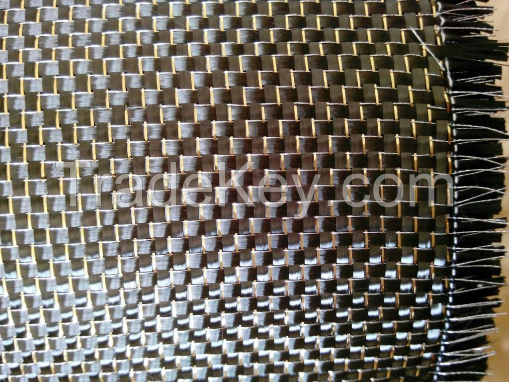 Gold and silver Carbon fiber fabric/cloth,Metallic carbon fiber fabric