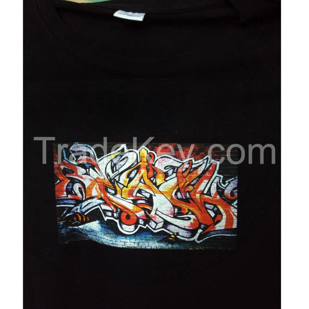 personalized textiles T shirt printer fabric printing machine with free RIP software