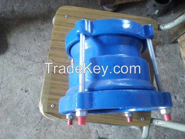 Ductile iron universal coupling